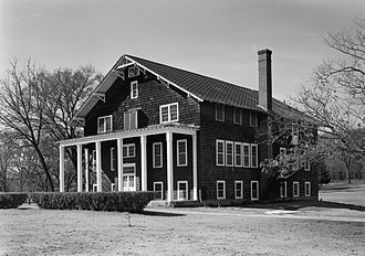Sequoyah County, Oklahoma - Dwight Mission in October 1969
