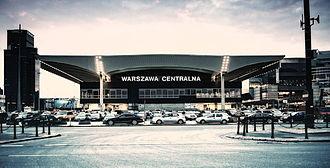 Warszawa Centralna railway station - Image: Dworzec Centralny w Warszawie radek kolakowski