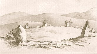 Harry Longueville Jones - Image: Dwygyfylchi Stone Circle Conway