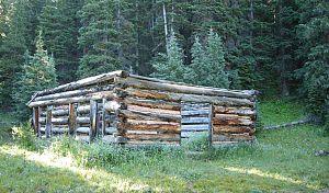Dyersville, Colorado - Little remains of Dyersville.