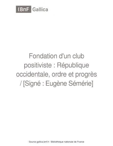 File:E. Sémérie (1870) Fondation d'un club positiviste.djvu