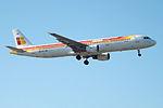 EC-JMR A321 Iberia (14622637909).jpg