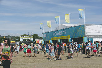 EE Limited - EE Power Bar at Glastonbury Festival of Contemporary Performing Arts 2015