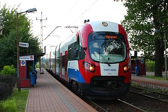 Warsaw Commuter Railway - class EN97 EMU