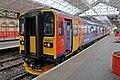 East Midlands Trains Class 153, 153311, platform 4, Crewe railway station (geograph 4524820).jpg