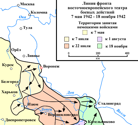 Eastern Front 1942-05 to 1942-11 Voronezh