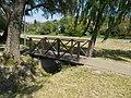 Eastern wooden footbridge. - Fő Street, Torbágy.jpg