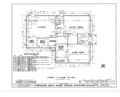 Ebenezer Smith House, 20 Main Street, Durham, Strafford County, NH HABS NH,9-DUR,4- (sheet 2 of 38).png