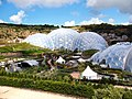 Eden Project, gardens and Humid Tropical Biome - geograph.org.uk - 1701064.jpg