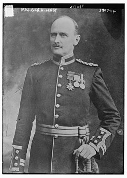 Edmund Allenby, 1st Viscount Allenby in 1916