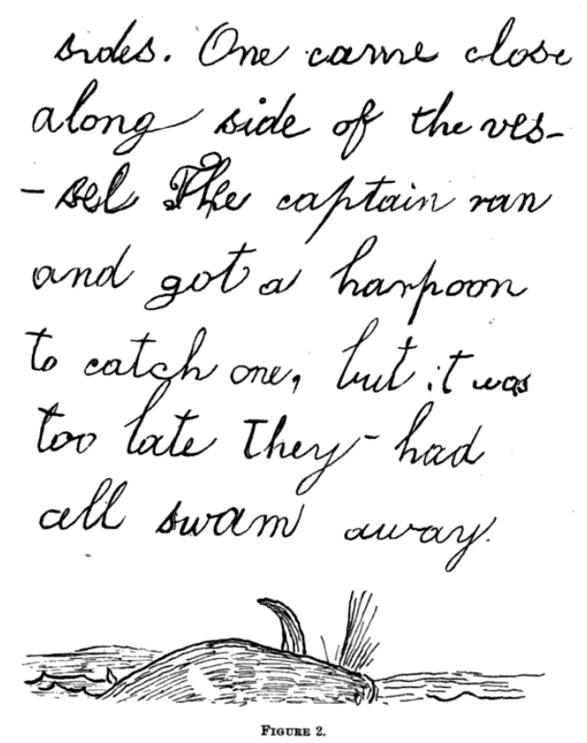 EdwardDrinkerCope handwriting1847