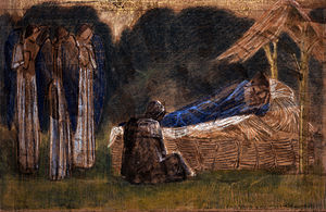 Garman Ryan Collection - Image: Edward Burne Jones The Nativity