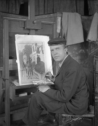 Edward Penfield - Penfield circa 1900