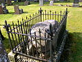 Edwin R Rose grave, Glen Sannox, Isle of Arran.JPG