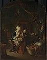 Een moeder die haar kind de borst geeft Rijksmuseum SK-C-243.jpeg
