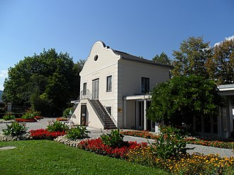 Treaty of Leoben - The garden house formerly owned by Josef von Eggenwald was the site of the signing