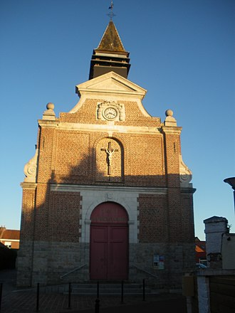 Don, Nord - Image: Eglise Don 1