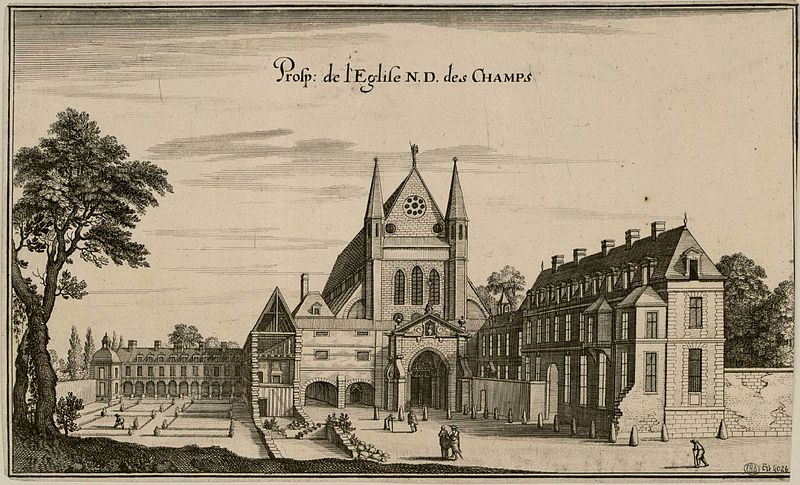 Fichier:Eglise NDDC XVIIè siècle.jpg