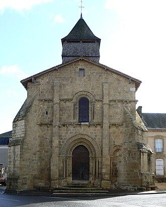 Pressac - Church in Pressac