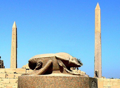 Egypte Karnak Khepri