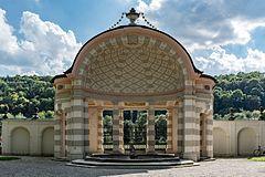 Eichstätt, Ostenstraße 26, Fürstbischöfliche Sommerresidenz, Mittelpavillon-20160816-001.jpg