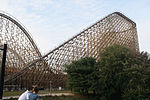 El Toro lift hill (side view).jpg