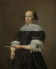Elisabeth van Kessel (1640-1717). Wife of Willem Jacobsz Baert