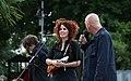 Eloui und Christoph Mateka - Fest für den Rundfunk Karlsplatz 2014 02 Alexander Goebel.jpg
