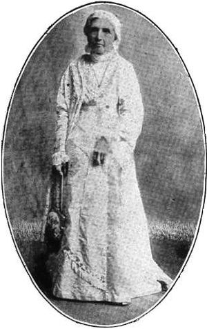Emmeline B. Wells - Wells while president of the Relief Society