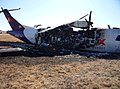Empire Airlines Flight 8284(N902FX) wreckage.jpg