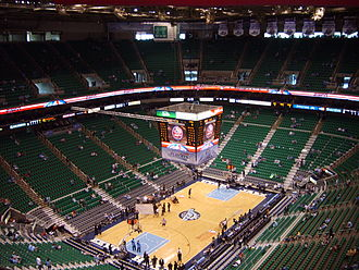Vivint Smart Home Arena - Interior in 2006