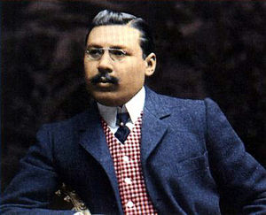 Atlético Madrid - Enrique Allende, first President of the club after its establishment in 1903