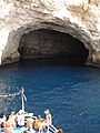 Entering a cave in Paxoi.jpg