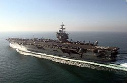 USS Enterprise (CVN-65) Persialahdella 1998