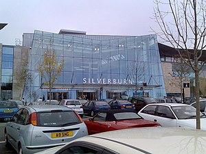 Pollok - Entrance to Silverburn Centre
