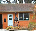 Equestrian Statue in a Front Yard, 50435 Bog Road, Van Buren Township, Michigan - panoramio.jpg