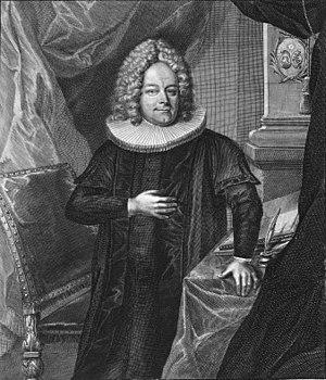 Erdmann Neumeister - Erdmann Neumeister, 1719.