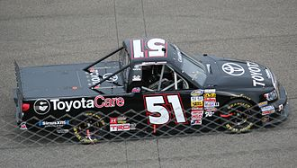 Erik Jones - Jones' 2013 truck at Rockingham Speedway
