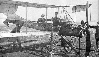 Ernest Failloubaz - Ernest Failloubaz (pilot) and Gustave Lecoultre (observer) demonstrating the Dufaux 5 to the Swiss Army from 4 to 6 September 1911