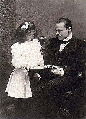 Ernest Louis, Grand Duke of Hesse - Image: Ernstwith Elisabeth