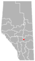 Erskine, Alberta Location.png
