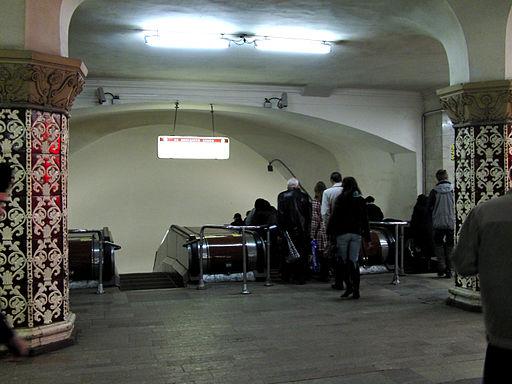 Escalators between Komsomolskaya-koltsevaya and Komsomolskaya-radialnaya stations (Эскалаторы между станциями Комсомольская-кольцевая и Комсомольская- (5229038563)