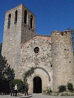 Església parroquial de Sant Genís de Palafolls.JPG