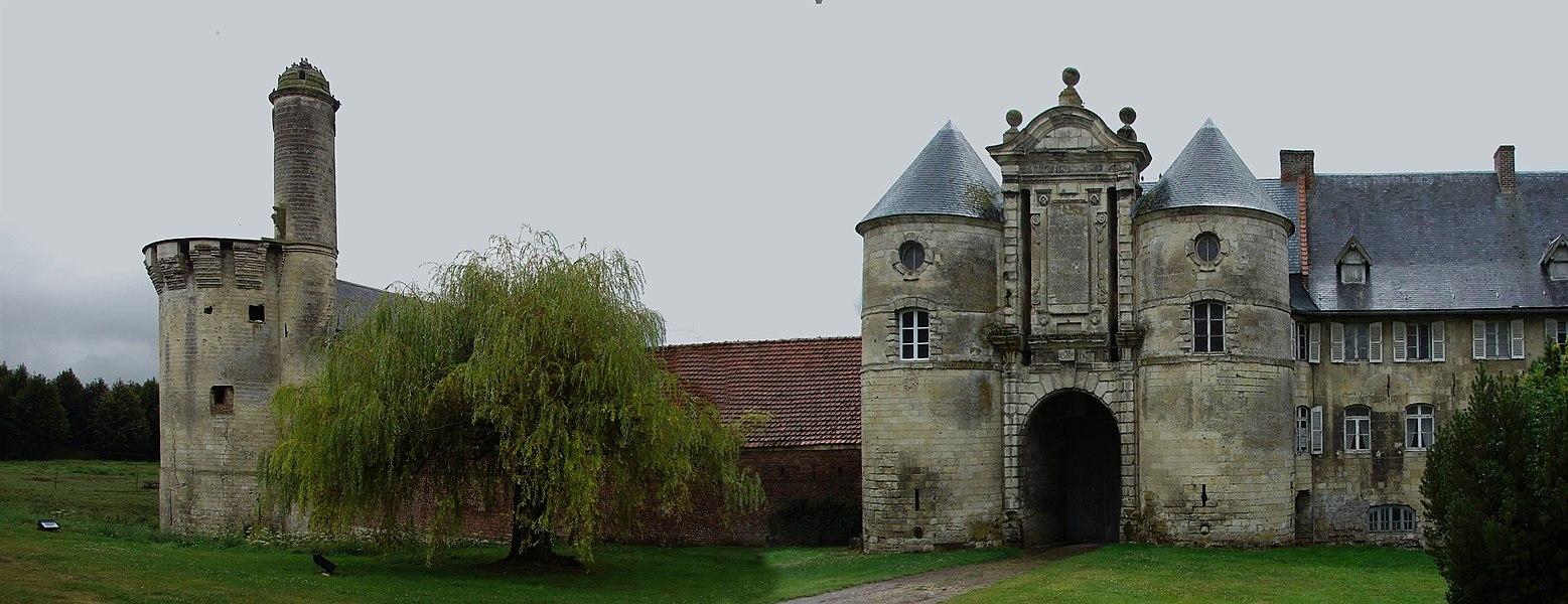 Esnes Panorama sur le Château