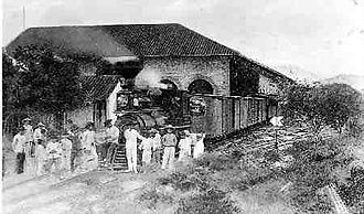 Cúcuta - Railroad of Cúcuta – 1910