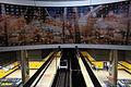 Estación de Pinar del Rey, mural y andenes.JPG