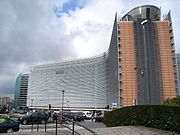 The Berlaymont in Brussels houses the European Commission