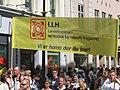 Europride parade Oslo 2005 - LLH banner.jpg