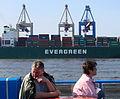 Evergreen container ship Hamburg port.jpg