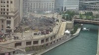 File:Explosions on Wacker Drive in Chicago for Transformers 3 movie filming on location.webm